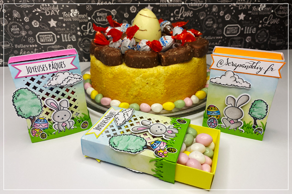Petites boites cadeaux pour Pâques
